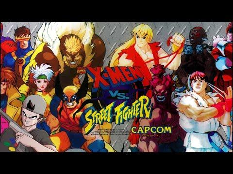 X-MEN vs Street Fighter    Hazme Recordar (SATURN)