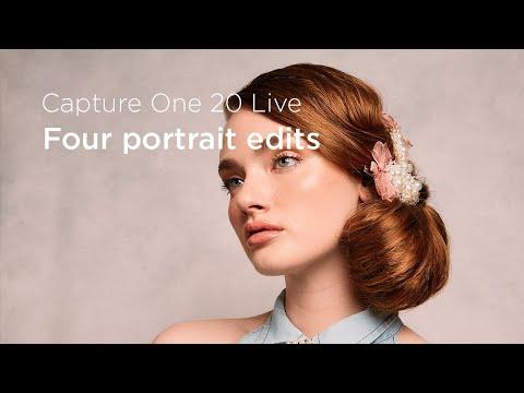 Capture One 20 | Live : Four portrait edits