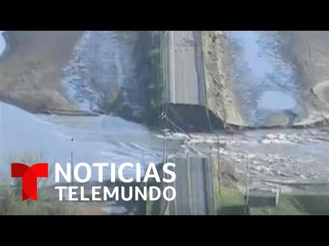 Michigan en estado de emergencia tras ruptura de represas | Noticias Telemundo