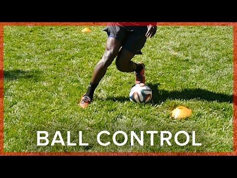 Soccer Ball Control Drill