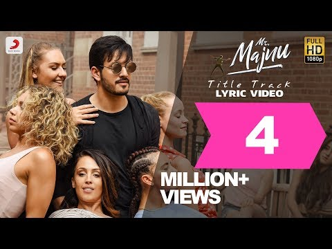 Mr--Majnu---Title-Track-Lyric-Video--Telugu-