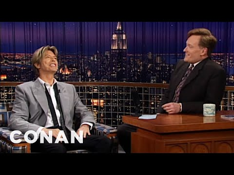 Conan Remembers David Bowie  - CONAN on TBS