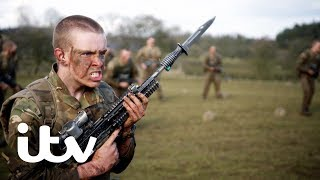 The Paras: Men of War | The Recruits Face Up to Gruelling Bayonet Exercises | ITV