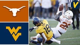 #11 Texas vs West Virginia | Week 6 | College Football Highlights| 2019
