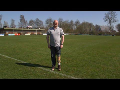 Trienko raakte onderbeen kwijt na doodschop bij voetbal