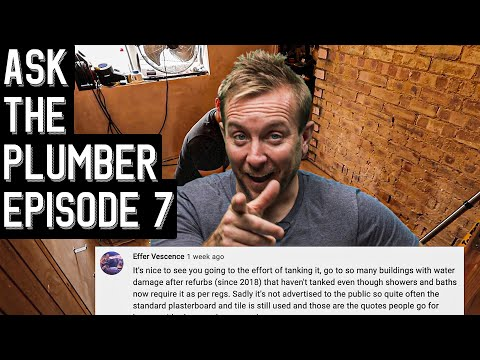 Ask The Plumber 7 Your DIY Plumbing questions answered