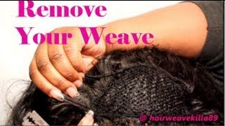 How To Remove a Sewin! ♥