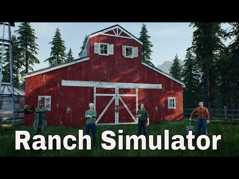 #RanchSimulator Angespielt