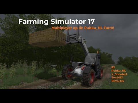 Farming Simulator 17 Livestream 15 Augustus 2017