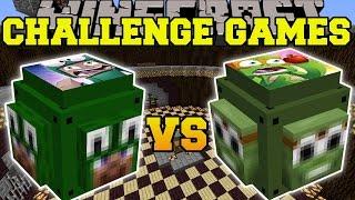 Minecraft: LITTLE LIZARD VS TINY TURTLE CHALLENGE GAMES - Lucky Block Mod - Modded Mini-Game