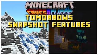 Tomorrows Minecraft Snapshot Features | Minecraft 1.17 Caves & Cliffs Update (21w15a)