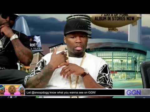 50 Cent and G-Unit with Snoop Dogg on GGN