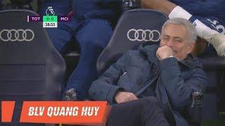 Giải mã nụ cười của Jose Mourinho trong trận đấu gặp Man City   BLV Quang Huy