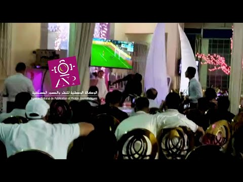 بالفيديو: عريس ترك عرسه لمشاهدة مباراة المنتخب ضد الغابون
