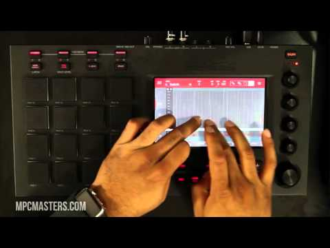 MPC Touch Hands On Beat Making Demo MPCMasters com