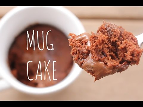 3-Minute Microwave Chocolate Mug Cake | sweetco0kiepie