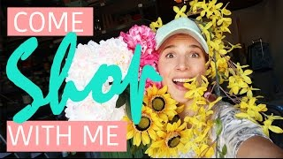 How To Decorate A Rainbow Room   Jessie Paege x Mr. Kate Shopping Vlog