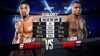 GLORY 20: Simon Marcus vs. Jason Wilnis (Full Video)