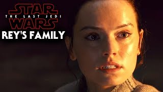 Star Wars The Last Jedi - Rey's Family & More (Rey's Parents)