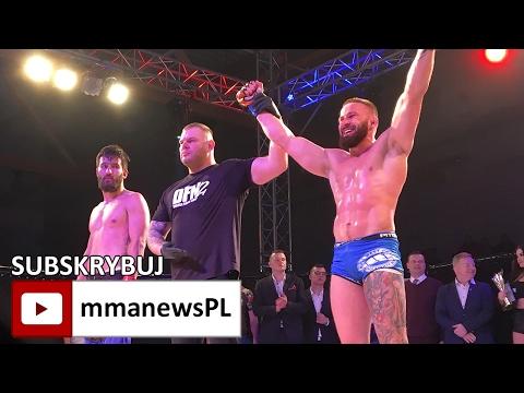 Nagrania zawodowych pojedynków MMA gali Dragon Fight Night 2