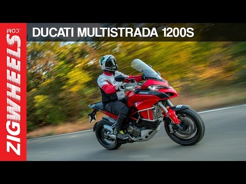 Ducati Multistrada 1200S Road Test Review