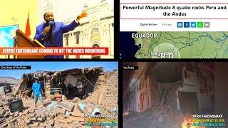 PERU EARTHQUAKE 2019: ITS PROPHECY & SHOCKING FULFILMENT
