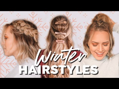 Easy Winter Hairstyles and Braids! - Kayley Melissa