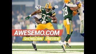 Week 11 NFL Thursday Night Football DraftKings Showdown Picks Packers-Seahawks - Awesemo.com
