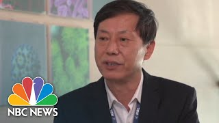 Watch: Full Interview With Director Of Wuhan National Biosafety Laboratory | NBC News