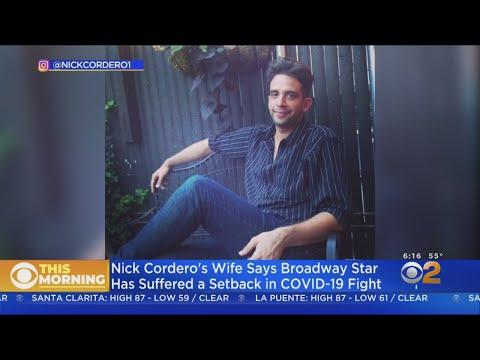 Broadway Star Nick Cordero Suffers Setback In Battle Against COVID-19
