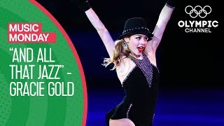 """Gracie Gold's beautiful Figure Skating routine to """"And All That Jazz"""" 