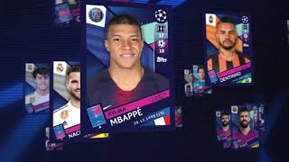 Champions League UEFA 2018/2019 par Topps - Collection Officielle de Stickers