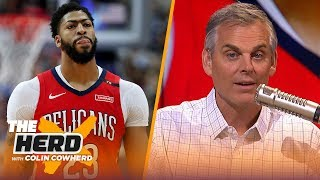AD's plans are going to dictate this offseason & Colin Cowherd defends Magic   NBA   THE HERD