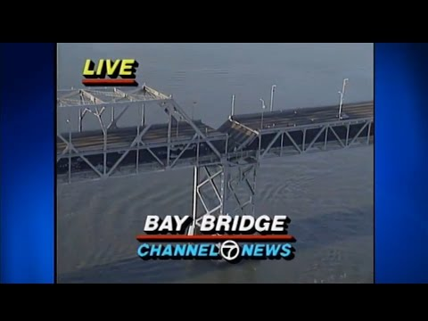 10-17-1989 San Francisco Earthquake - First Minutes (KGO TV)