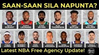 PINAKA LATEST NBA Free Agent BALITA | Sino'ng Mga LUMIPAT at nag STAY