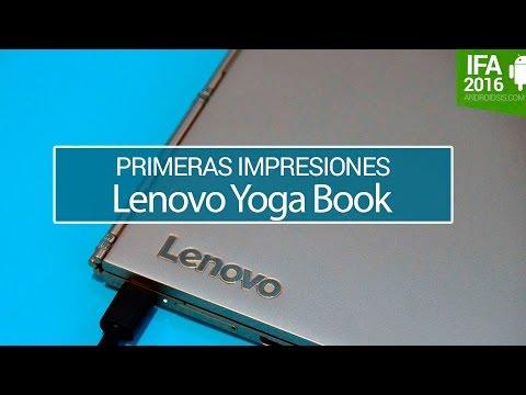 Lenovo Yoga Book primeras impresiones en IFA