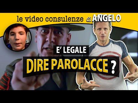 È LEGALE DIRE PAROLACCE? | avv. Angelo Greco