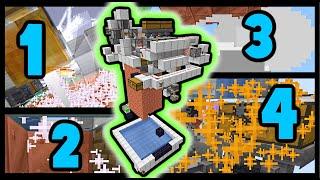 Weirdest 1.17 Minecraft Machine! Copper oxidizer, waxer, de-oxidizer, de-waxer