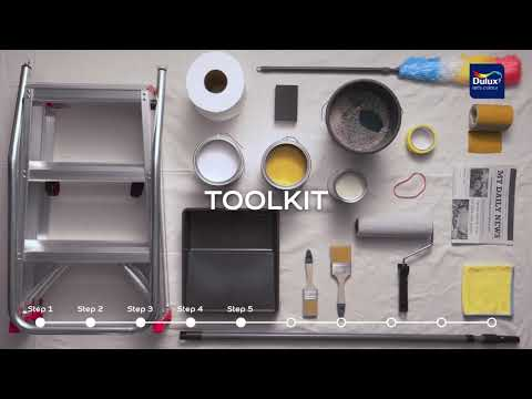How to prepare and paint a wall - Dulux