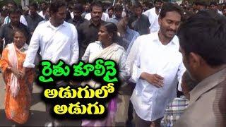 YS Jagan Interaction With Lady Farmers | YS Jagan's Padayatra Continues In Pithapuram | IndionTvNews