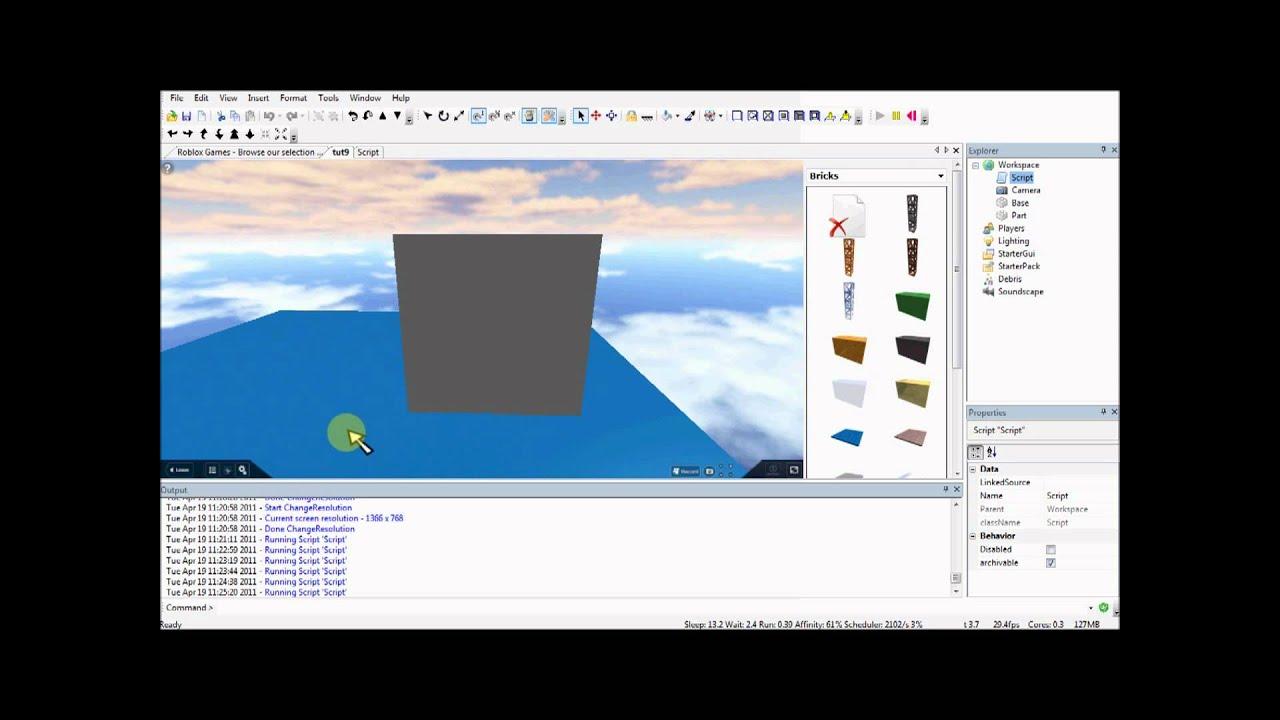 Basic roblox lua programming free