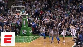 Marcus Morris hits clutch 3 with 1.2 seconds left to help shorthanded Celtics beat Thunder | ESPN