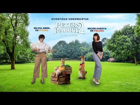 PETER RABBIT 2 - Sílvia Abril y Belén Cuesta cocinan PIZZA DE VERDURAS | Sony Pictures España