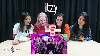 [MV REACTION] DALLA DALLA (달라달라) - ITZY | P4pero Dance