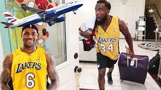 LEBRON JAMES JOINS THE LA LAKERS!! I'M MOVING TO LA TO FOLLOW!
