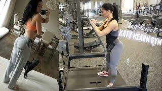 LEG WORKOUT AT KATY HEARN GYM | vlog