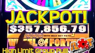 $100 GOING FOR $357,856.79 ★ HIGH LIMIT Group JACKPOT ★ | SlotTraveler