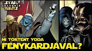 Mi lett Yoda fénykardjával? Darth Vader Képregény #2 | Star Wars Akadémia