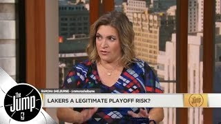 Lakers miss the NBA playoffs according to '18-19 NBA projections | The Jump | ESPN