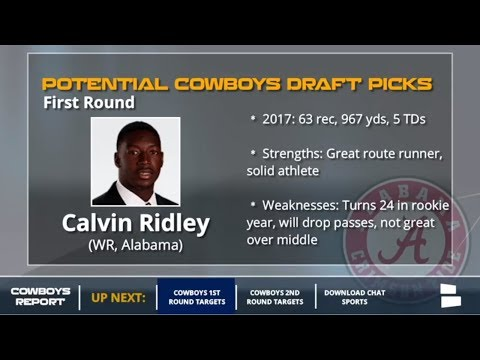 10 Offensive Players The Dallas Cowboys Could Draft In The 1st And 2nd Rounds Of The 2018 NFL Draft